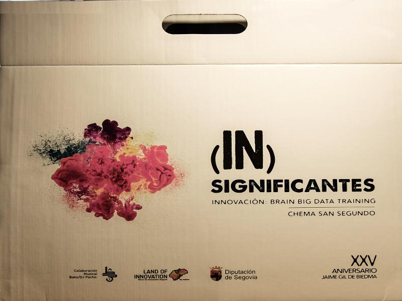 '(In)Significantes' | Innovación: Brain Big Data Training | Chema San Segundo | XXV Aniversario Jaime Gil de Biedma