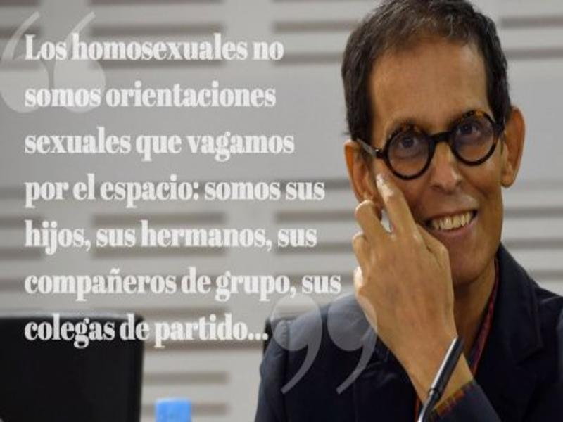 'Los homosexuales no somos...' | Pedro González Zerolo | Político y activista social español | 1960-2015