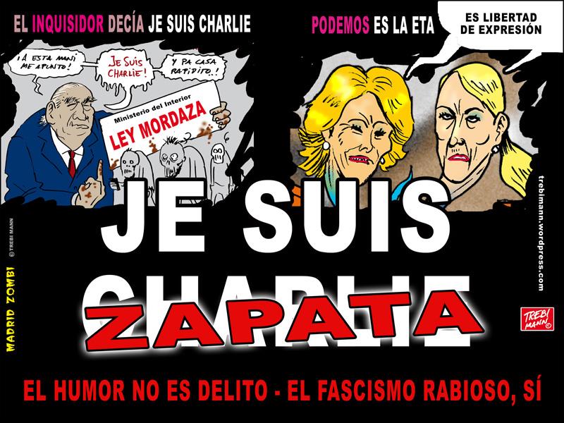 MZ 2015 - 25   Je suis Zapata   © Trebi Mann 2015