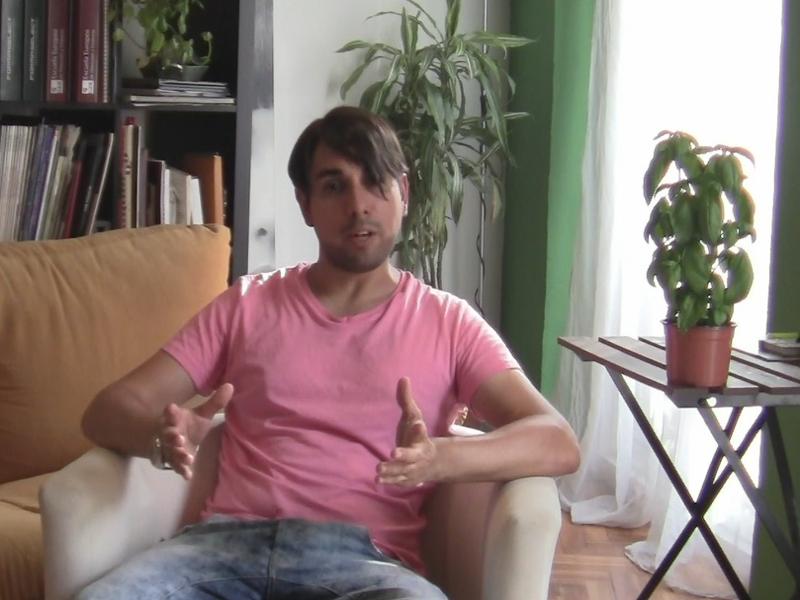 Verbo Burbuja 1 | Derrick Álvarez: actor | Cuidar | Madrid 9 de agosto de 2014 | Burbujas Culturales | Madrización