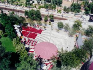 Cine de verano al aire libre en el Parque de la Bombilla | Moncloa-Aravaca - Madrid | Fescinal 2015 | Veranos de la Villa 2015 | Del 25 de junio al 12 de septiembre de 2015