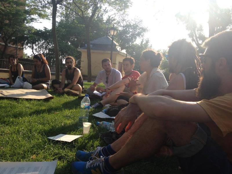 II Asamblea de Cultura de Ahora Madrid | Parque de Las Vistillas | Barrio de La Latina | Madrid | Lunes 29 de junio de 2015 | Foto Madrización