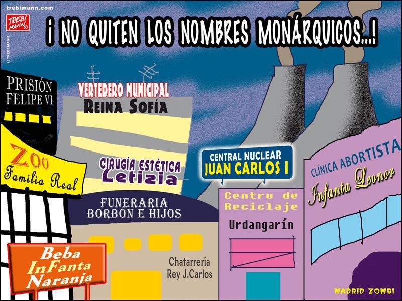 MZ 2015 - 30 | Nombres monárquicos | © Trebi Mann 2015