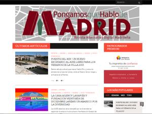 Nuevo tema Bucket de WordPress para Pongamos que Hablo de Madrid (julio 2015)