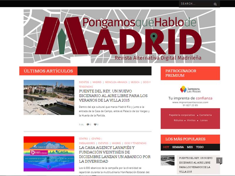 PqHdM estrena un nuevo tema de WordPress con una imagen más ...