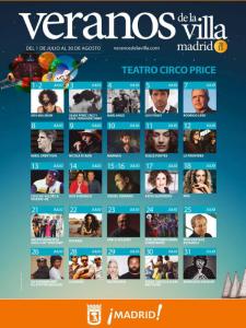 Teatro Circo Price | Veranos de la Villa 2015 | Barrio de Lavapiés | Madrid | Programación Julio 2015