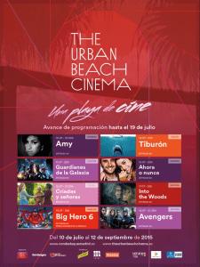 The Urban Beach Cinema Conde Duque | Veranos de la Villa 2015 | Madrid | Programació del 10 al 18 de julio de 2015