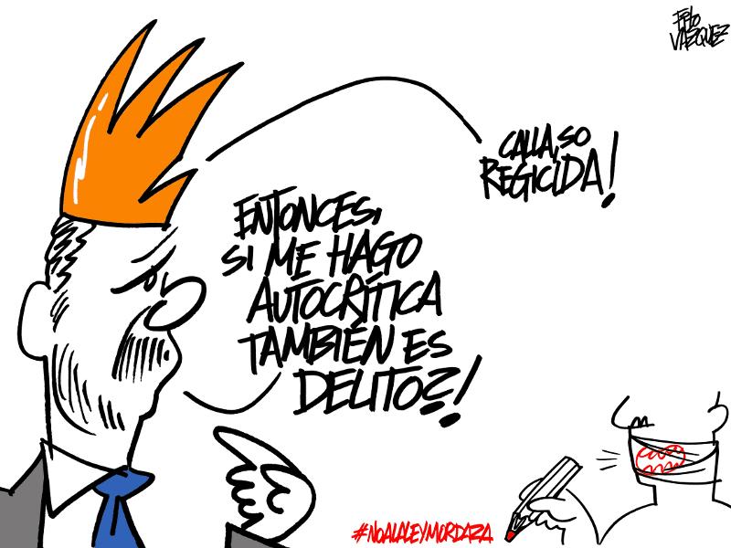 Felipe y la Ley Mordaza | © Fito Vázquez 2015