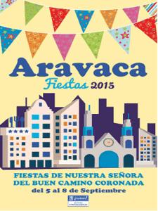 Fiestas de Nuestra Señora del Buen Camino Coronada Aravaca 2015 | Moncloa-Aravaca | Madrid | Del 5 al 8 de septiembre de 2015 | Cartel