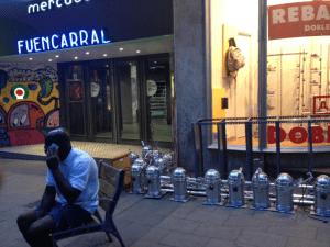 Imágenes del fin del mundo | 14 | Mercado de Fuencarral | Barrio de Maravillas | Distrito Centro | Madrid | 24-07-2015