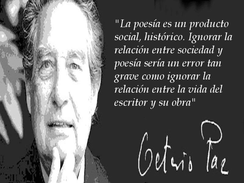 La poesía es un producto social | Octavio Paz