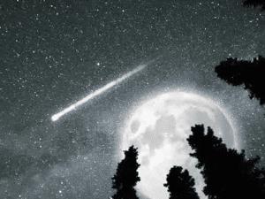 Perseida o 'Lágrima de San Lorenzo' y Superluna en la noche de agosto de la Sierra de Madrid