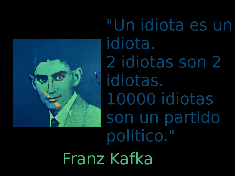 Un idiota es un idiota | Franz Kafka