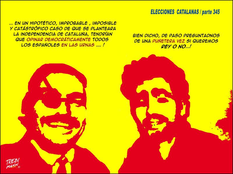 Elecciones catalanas | Parte 345 | © Trebi Mann 2015