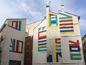 Muralismo grafitero | El Tono | Calle de la Cruz 18 | Barrio de Sol | Centro - Madrid | Agosto 2015