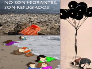 No son migrantes, son refugiados | Ayuda a los refugiados | ¿Cómo puedo ayudar?