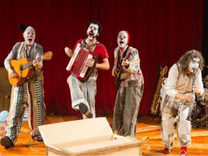 'Rhum' de Rhum y Cía en el Teatro Circo Price de Madrid | 19 y 20 de septiembre de 2015 | Payasos músicos