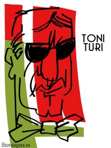 Toni Turi | Caricatura de Fito Vázquez 2015