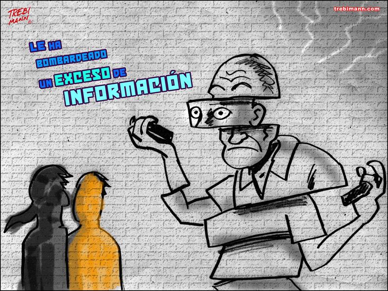 Exceso de información | © Trebi Mann 2015