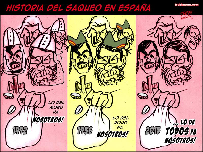 Historia del saqueo en España | © Trebi Mann 2015