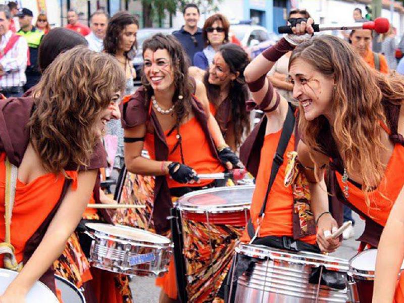 Shambaiala Batucada | Tapapiés 2015 | Lavapiés - Madrid