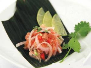 Tapapiés 2015 | Tapa Cebiche Nikkei de Washoku Sushi | Mercado San Fernando | Lavapiés - Madrid