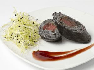 Tapapiés 2015 | Morcilla Kyoto (Futomaki) | Origen: Japón | Borodin | Lavapiés - Madrid