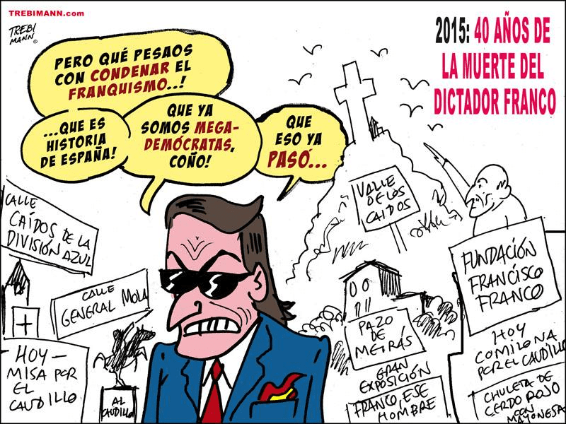 40 años de la muerte del dictador Franco   © Trebi Mann 2015