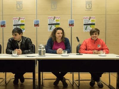 Jorge García Castaño, Almudena Gallardo y Sonia Bermúdez | Rueda de Prensa Distrito Centro Madrid | 13/11/2015