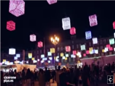 La Plaza Mayor de Madrid en Navidad | Vídeo Cicerone Plus | 2015