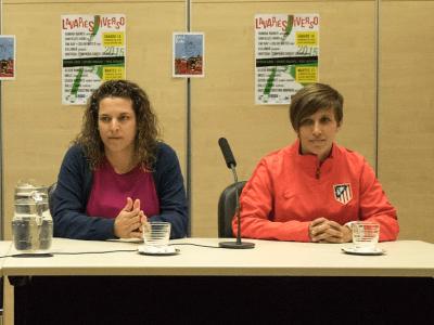 Las deportistas de élite Almudena Gallardo y Sonia Bermúdez apoyan Jornadas Deportivas 'Somos iguales' | Rueda de Prensa Distrito Centro de Madrid (13/11/2015)