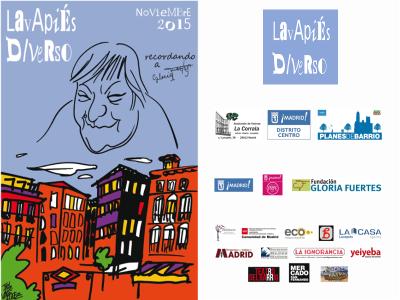 Lavapiés Diverso 2015 | Recordando a Gloria Fuertes | Colaboradores