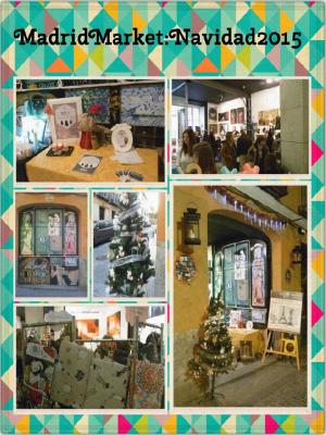 Madrid Market   Mercadillo de emprendedores y artesanos   Navidad 2015   Malasaña - Madrid