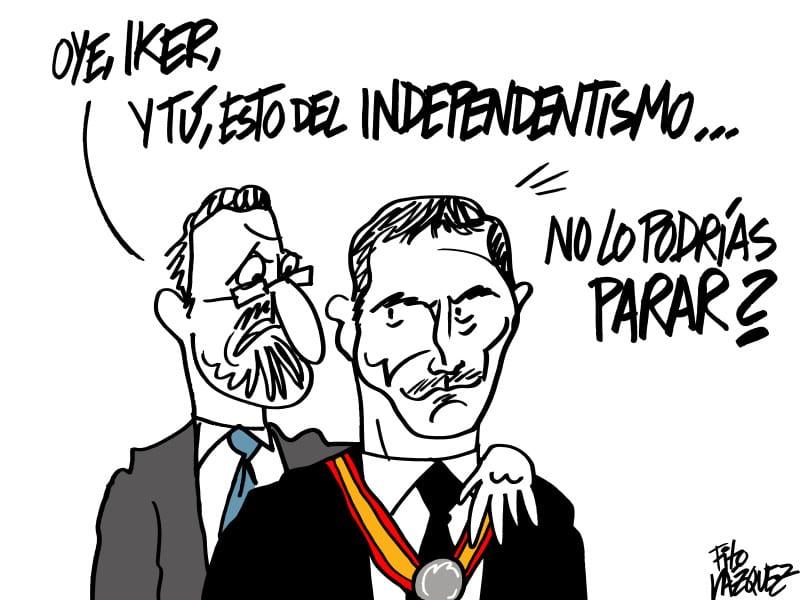 Rajoy y Casillas | © Fito Vázquez 2015