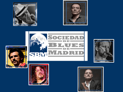 SBM Blues Band de la Sociedad de Blues de Madrid | Noviembre 2015