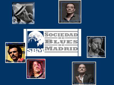 SBM Blues Band de la Sociedad de Blues de Madrid | Noviembre 2015