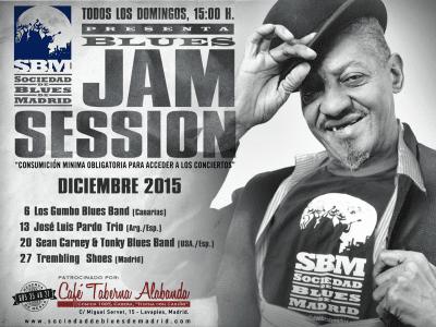 Sociedad de Blues de Madrid | Conciertos diciembre 2015 | Taberna Alabanda | Lavapiés - Madrid