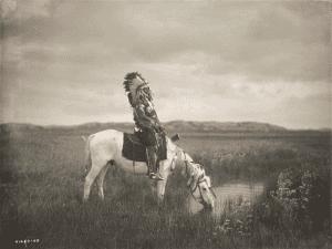 'Un oasis en las Badlands' (1905) | Edward S. Curtis | Library of Congress | Washington, D.C. | 'La ilusión del Lejano Oeste' | Museo Thyssen-Bornemisza | Madrid | Otoño 2015-2016