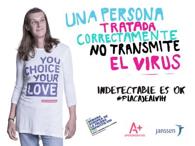 Apoyo Positivo | Indetectable es OK | #placajealVIH | Noviembre 2015