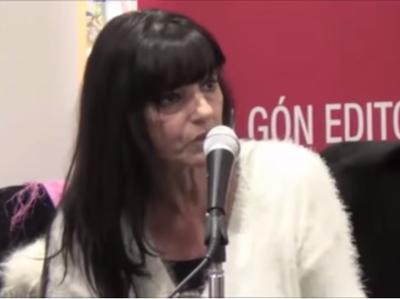 Consuelo García del Cid en la presentación y coloquio de 'Ruega por nosotras'  (Algón Editores, 2015)