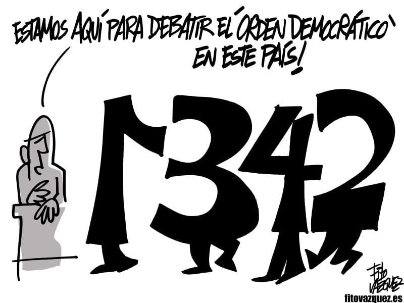 Debate político | © Fito Vázquez 2015