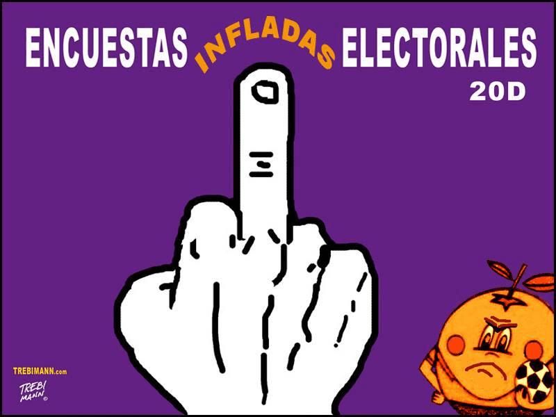 Encuestas infladas electorales | © Trebi Mann 2015