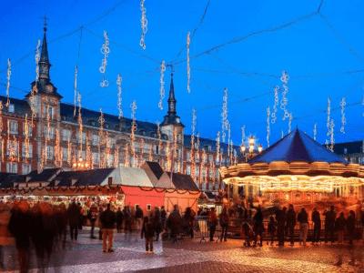 Es Madrid Es Navidad | Mercadillo Navideño Plaza Mayor | Madrid Navidad 2015