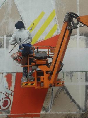 Graffiteando Lavapiés | 20/12/2015 | Calle de Embajadores | Lavapiés - Madrid | 3