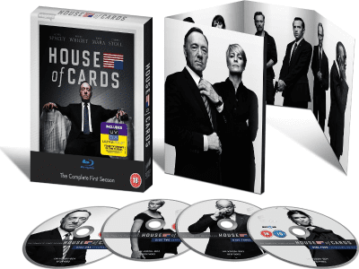 'House of Cards' | Blu-ray | Primera temporada | Serie de televisión