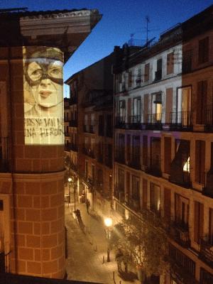 Manuela Carmena en Vértice Curvo | Elecciones Municipales 2015 | Malasaña - Madrid