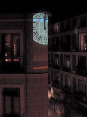 Vértice Curvo de Madrización dará las campanadas de Nochevieja en la esquina de la calle Jesús del Valle con calle Espíritu Santo del barrio de Maravillas de Madrid