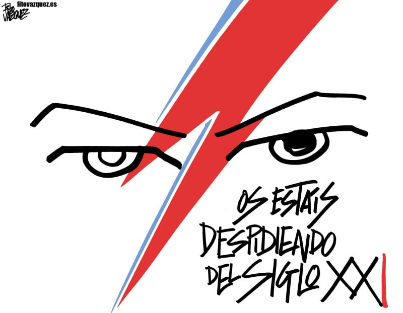 Bowie: Nos vemos en el futuro |  © Fito Vázquez 2016