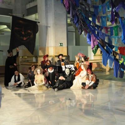 Carnaval de Madrid 2016 | 'El Carnaval que queremos' | ¡Es en Tetuan! | Del 5 al 10 de febrero de 2016 | Ayuntamiento de Madrid | Bufones de Carnaval