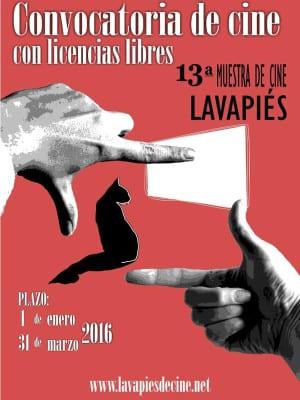 Convocatoria de cine con licencias libres | 13ª Muestra de Cine de Lavapiés | 01/01-31/03-2016 | Lavapiés de Cine | Cartel Margarita Gurruchaga